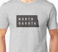 North Dakota - My home state Unisex T-Shirt