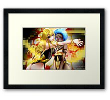 Visions of You Framed Print