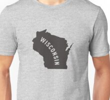 Wisconsin - My home state Unisex T-Shirt