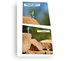 Boris the Base Jumper Canvas Print