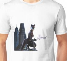 Catwoman as the Sin Greed Unisex T-Shirt