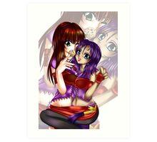 Akurei and Seiru Art Print