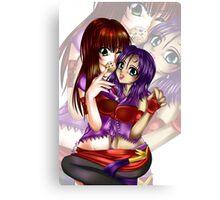 Akurei and Seiru Canvas Print