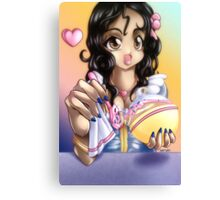 Birthday Ariel Canvas Print