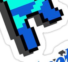 Jump'nshootman Sticker