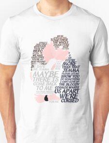 Fitzsimmons' Minimal Kiss Art Quotes Unisex T-Shirt