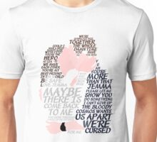 Fitzsimmons' Minimal Kiss Art Quotes Unisex T-Shirt