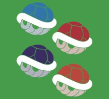 TMNT Shells Baby Tee