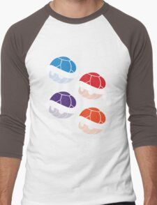 TMNT Shells Men's Baseball ¾ T-Shirt