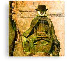Monsieur Bone et la liberté  Canvas Print