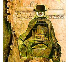 Monsieur Bone et la liberté  Photographic Print