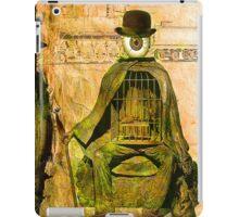 Monsieur Bone et la liberté  iPad Case/Skin