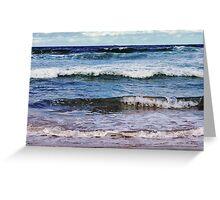 AUSTIMER BEACH  Greeting Card