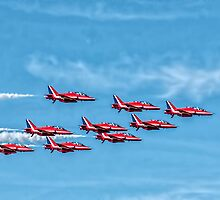 The Red Arrows by Tarrby