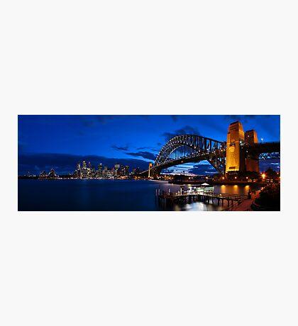 Sydney Skyline Panorama 2 Photographic Print