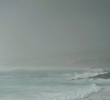 rainy day at Quinninup Beach by metriognome
