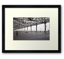The Howrah Bridge Framed Print