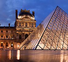 The Louvre by Adrian Alford Photography