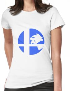 Sonic - Super Smash Bros. Womens Fitted T-Shirt
