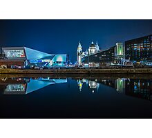 Museum Of Liverpool And Liver Building Photographic Print