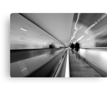 Metro Ghosts Canvas Print