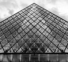 The Glass Pyramid by Adrian Alford Photography