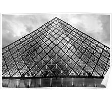 The Glass Pyramid Poster