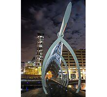 Bridge over the Princes Dock - Liverpool Photographic Print