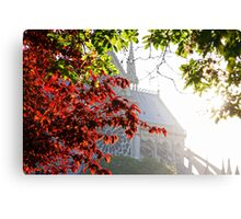 Dawn Over Notre Dame Canvas Print