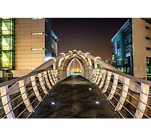 Pier Head Bridge Liverpool Photographic Print