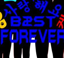 ♥♫I Love B2ST Forever Splendiferous K-Pop Clothes & Stickers♪♥ Sticker