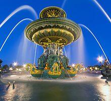 Fontaines De La Concorde by Adrian Alford Photography