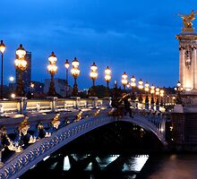 Paris At Night by Adrian Alford Photography