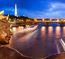 Paris Panorama by Adrian Alford Photography