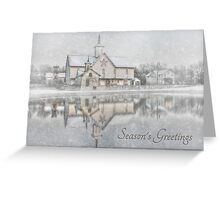 Seasons Greetings - Star Barn Greeting Card