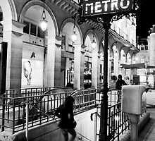 Paris Metro by Adrian Alford Photography