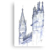 towers .  monastery Canvas Print