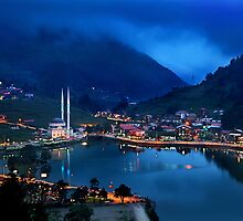 Blue hour in Uzungol by Hercules Milas