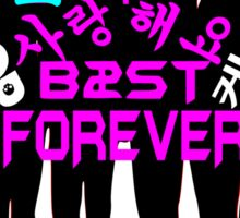 ♥♫I Love B2ST Forever Splendiferous K-Pop Clothes & Stickers♪♥ Sticker