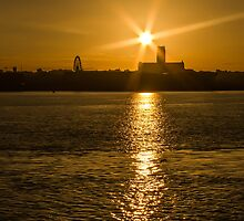 Sunrise Over Liverpool Cathedral by Paul Madden