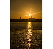 Sunrise Over Liverpool Cathedral Photographic Print