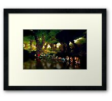 Donkey Kong Country pixel art Framed Print