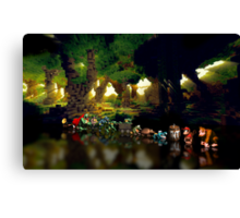 Donkey Kong Country pixel art Canvas Print