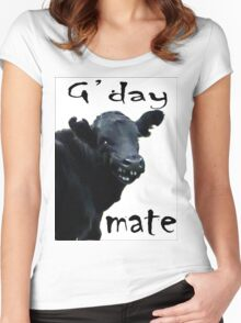 G'DAY MATE Women's Fitted Scoop T-Shirt
