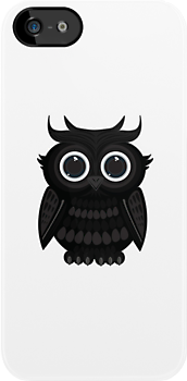Black Owl - White by Adamzworld