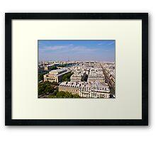 Paris de la Tour Saint-Jacques Framed Print