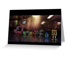 Super Metroid pixel art Greeting Card