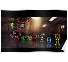 Super Metroid pixel art Poster