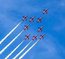 The Red Arrows by Paul Madden