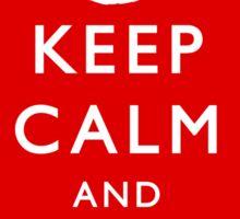 Keep Calm and Kindle Bonfires (Sticker) Sticker
